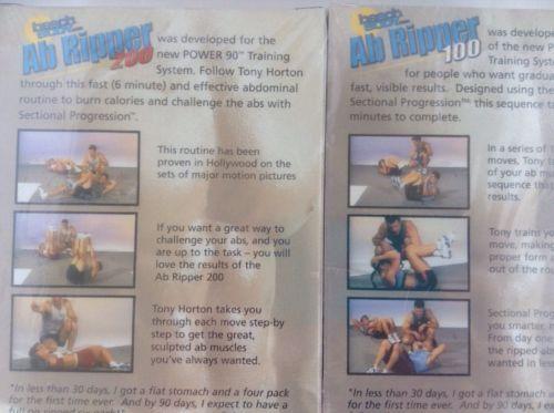 Power 90 Tony Horton and Beach Body 6 VHS and 50 similar items