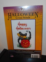 Happy Halloween - Candamar Designs Counted cross Stitch Kit - $15.00