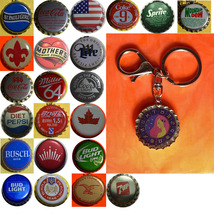 Constellation Virgo Virgin icon Coke Sprite pepsi & more Soda beer cap Keychain
