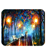 Mouse Pad Misty Mood Palette By Leonid Afremov Beautiful Painting For An... - $5.00