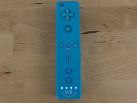 Nintendo Wii RVL-036 Motion Plus Controller Remote Blue  - $15.00