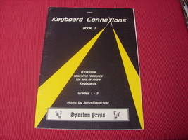 Keyboard Connexions Book 1 teaching resource musci book - $6.40