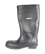 Tingley Rubber Black Economy Pvc Knee Boots Size 9 081138311695 - $31.02