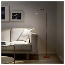 IKEA JANSJÖ LED floor/read lamp, copper color - $47.51