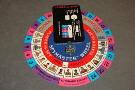 Cloak & Dagger Ideal 1984 Game Part: Spymaster Wheel - $7.00