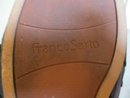 Franco Sarta Black Perforated Leather Mules For Women Size 9 Eur 39.5 image 12