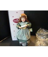 """ASHTON DRAKE BETH MARCH LITTLE WOMEN DOLL 15"""" BOXED WITH SHEET MUSIC - $15.95"""