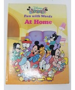 DISNEY BABIES FUN WITH WORDS AT HOME 1992 - $2.96