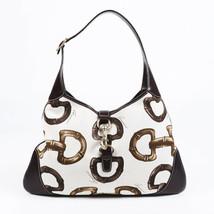 Gucci Jackie Bamboo Horsebit Print Hobo Bag - $455.00