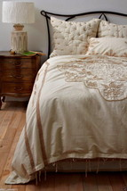 Anthropologie Cabarita King Duvet Linen Cotton ... - $218.58