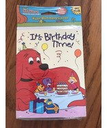 """Clifford Kids' Birthday Cards """" It's Birthday Time """" Ships N 24h - $11.86"""