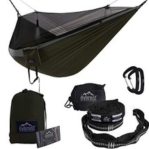 Everest Double Camping Hammock with Mosquito Net | Bug-Free Camping, Bac... - $89.54