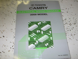 2009 Toyota CAMRY Electrical Wiring Diagram Troubleshooting EWD Shop Manual EWD - $53.46