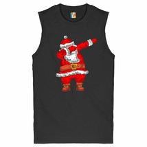 Santa Claus Dabbing Muscle Shirt Merry Christmas Dab Dance Funny Xmas Men's - $16.00+