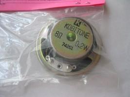 "Soundtraxx #810056 2"" Speaker Round  8 Ohms .1 Watt image 2"