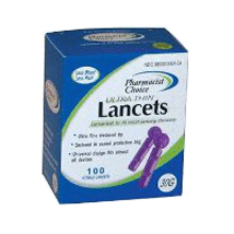 Universal Lancets UltraThin 30 G - $2.99