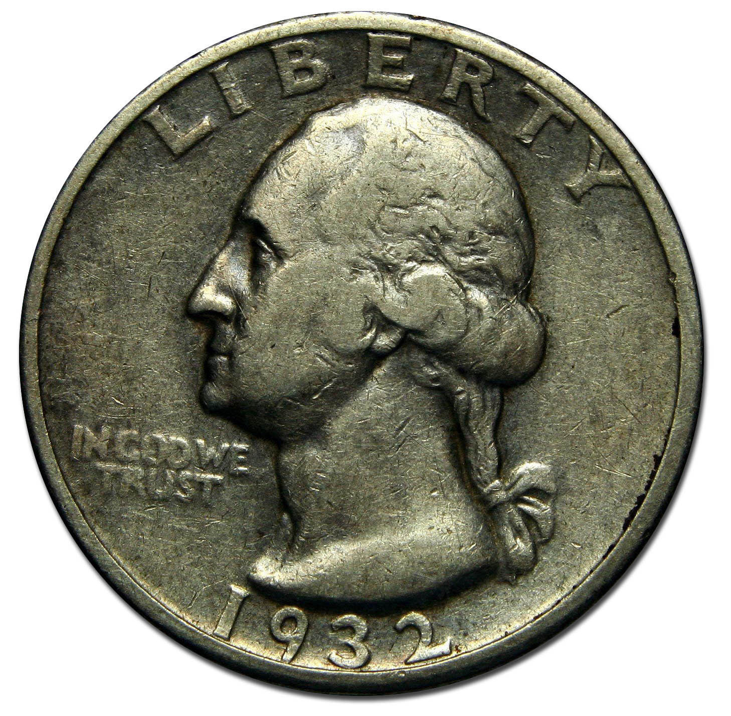 1932S George Washington Quarter 90% Silver Coin Lot# A 1413