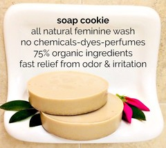 Feminine Soap Wash odor itch, natural odor vagina smell infection organi... - $7.95