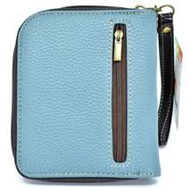 Chala Handbags Faux Leather Whimsical Siberian Husky Zip Around Wristlet Wallet image 2