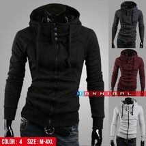 Freeshipping,2018 New Arrival Fashion Hoodies Sweatshirts,High Collar Ho... - $53.04