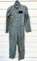 1974 Us Air Force Usaf Nomex Fire Resistant Flight Suit Green CWU-27/P - 36R #2 - $49.50