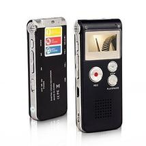 Btopllc Digital Voice Recorder 8GB Digital Voice Recorder MP3 Lecture Di... - $23.24