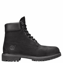 NIB*Timberland*Mens*6 inch Waterproof Boots*Black Nubuck*8-13* - $275.00