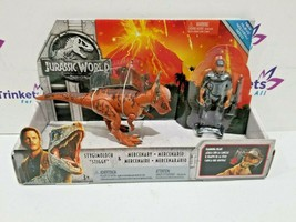 2018 Jurassic World Stygimoloch & Mercenary Figure - $11.99