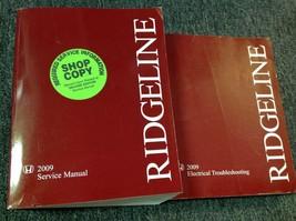 2009 HONDA RIDGELINE Service Shop Repair Workshop Manual Set W ETM Factory  - $69.25