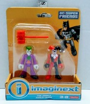 Imaginext DC Super Friends Harley Quinn Joker Batman's villains Fisher P... - $12.86