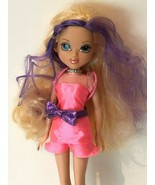Moxie Girlz 2009 Doll Avery Blonde Purple Color Hair Clothing MGA Entert... - $12.99