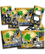 NOTRE DAME COLLEGE FOOTBALL TEAM LIGHT SWITCH OUTLET WALL PLATES DORM RO... - $8.99+