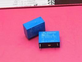SMI-S-112DM CIIA, 12VDC Relay, SANYOU Brand New!! - $6.21