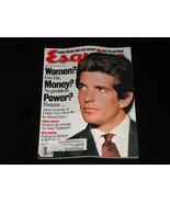 Esquire Magazine September 1995 JFK John F Kennedy Jr, Women! Money! No ... - $13.84