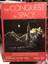 The Conquest Of Space, 1949, Dust Jacket -Bonestell, Ley - $245.00