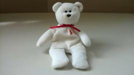 TY Beanie Baby White Maple Bear Canadian/Canada Flag 1993 McDonalds - $8.49