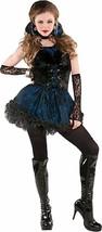 Midnight Vamp 5 Pc Costume Junior Small 3 - 5 Sexy - $43.69