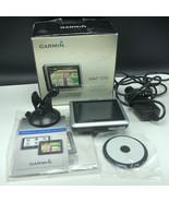 GARMIN GPS NAVIGATOR NUVI 1250 speaks street names box cup mount complet... - $74.25