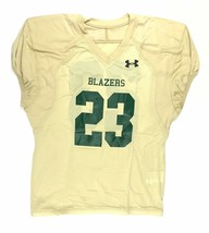 New Under Armour Men's L Blazers Football Practice Mesh Jersey #23 Gold ... - $26.52