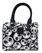 Loungefly Nightmare Before Christmas Jack Skellington Mini City Crossbod... - $76.75