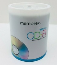 Memorex  CD-R Digital Audio Media - 700mb - 100 Pack  - $32.50