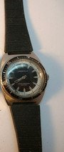 1974  CARAVELLE DEVIL DIVER 666FT 11DP MANUAL WIND WATCH RUNS TO RESTORE... - $285.42