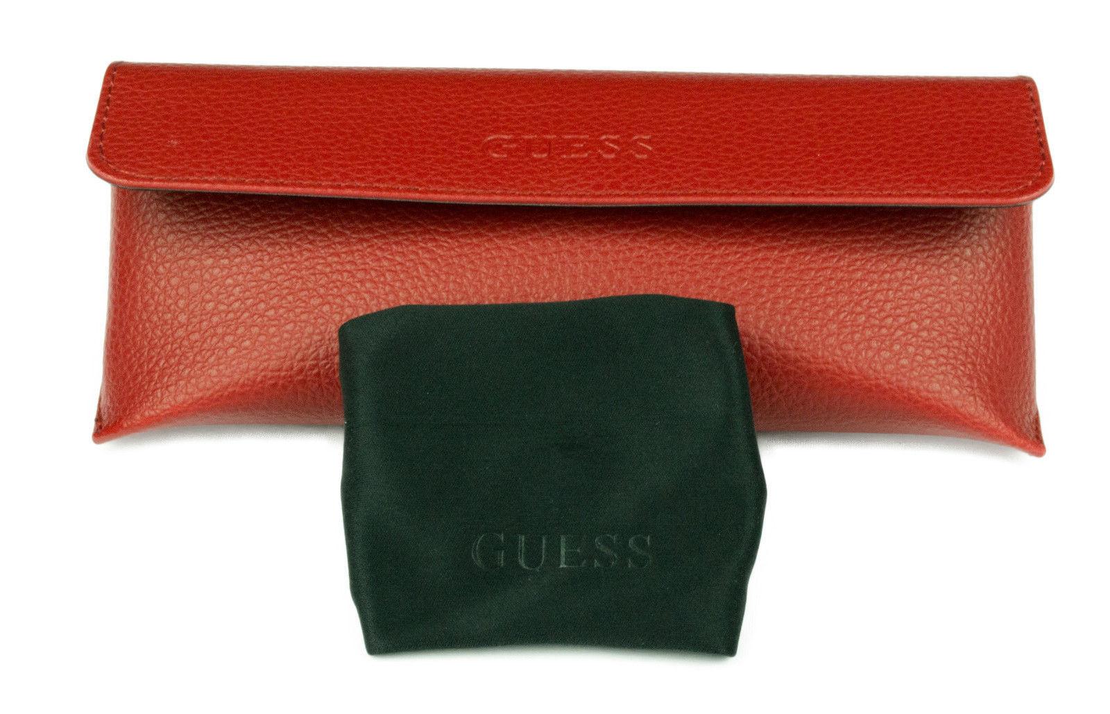 Brand New Guess Womens - GU7439 90A - Shiny Blue/Black w/ Smoke Lens Sunglasses