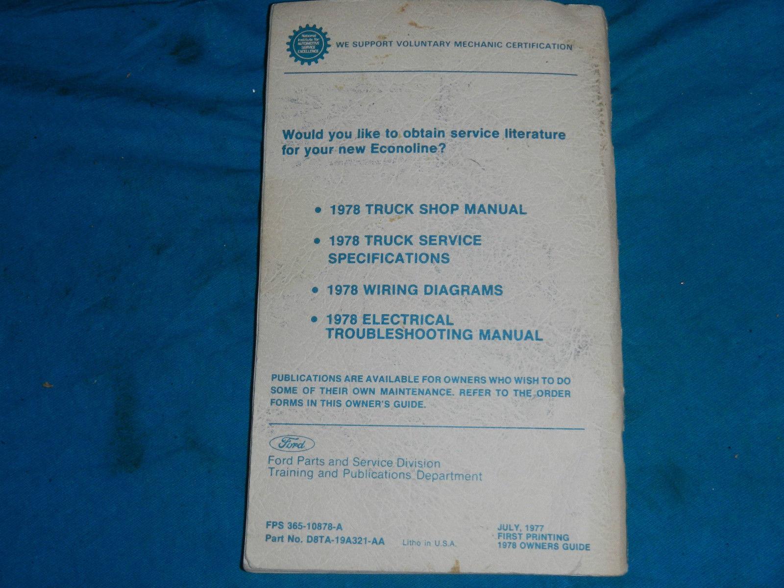 Motors Vehicle Parts & Accessories 1988 88 BUICK CENTURY OWNER'S ...