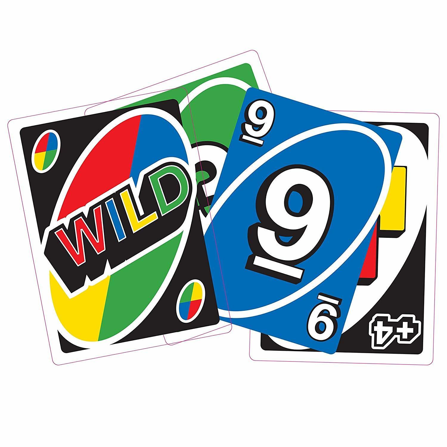Giant Uno Playing Cards Family Party Fun Games Friends