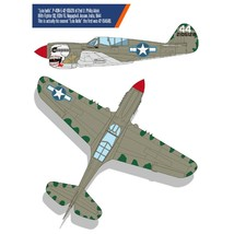 Academy 12341 USAAF P-40N Battle of Imphal Plastic Hobby Model Kit 1:48 Scale image 2