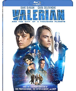 Valerian and the City of A Thousand Planets (Blu-ray + DVD) - $8.95