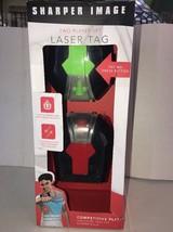Sharper Image Electronic Laser Tag 2-Player Set LED Display Infrared Tec... - $28.31