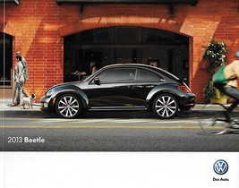 2013 Volkswagen BEETLE sales brochure catalog US 13 VW 2.5L TDI Turbo - $8.00