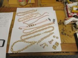 Costume Jewelry ,Vintage , Trfari , 1928 , Vendome ,Pink/Whilte/Gold , M... - $222.75